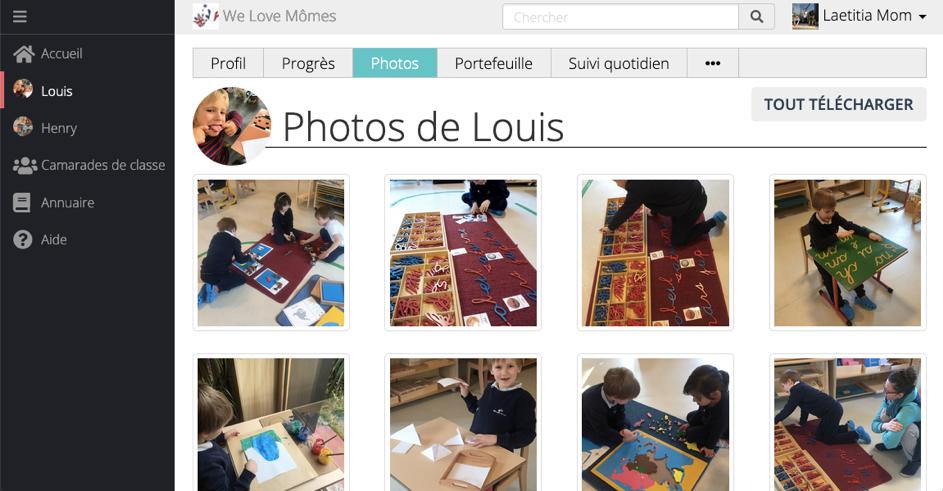 Suivi pédagogique photos