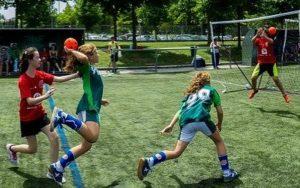 école Montessori internationale éco responsable handball