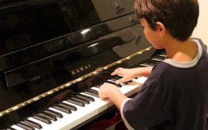 école Montessori internationale éco responsable piano