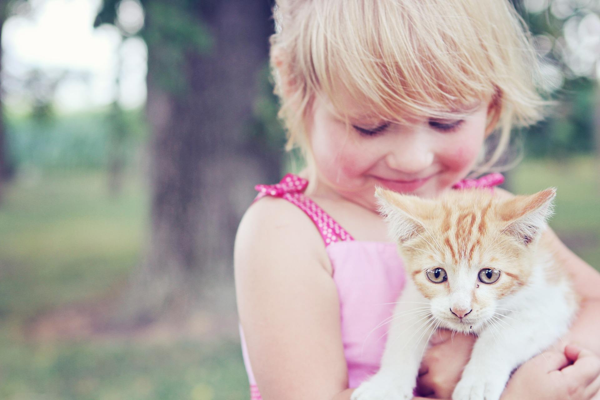 enfants animaux