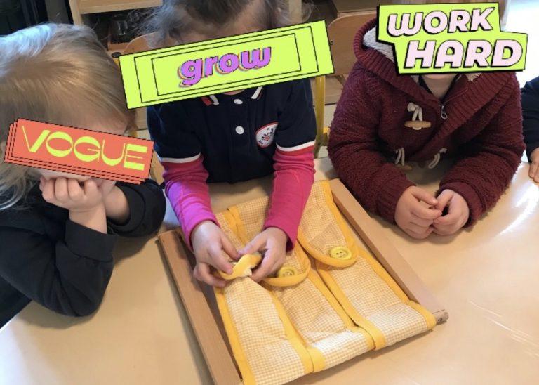 Enfant 2 et 3 ans école Montessori Yvelines 78